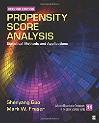 Propensity Score Analysis: Statistical Methods and Applications (Advanced Quantitative Techniques in the Social Sciences) by Shenyang Guo (2014-07-11)