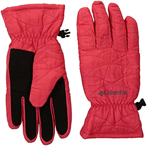 Columbia Women's Mighty Lite Gloves, Red Camellia, X-Large