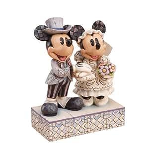 "Disney Traditions Figurine/décoration pour gâteau ""Mickey et Minnie"""