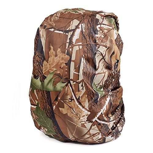 MINISU Rucksack Wasserdicht Camo Rucksack Anti-Rain/Anti Dust Cover (Jungle Camouflage) -