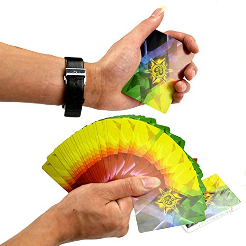 calistouk Colorful Rainbow Magic Spielkarten Trick Deck Spielen Soft Card Toys