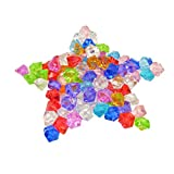Best Crystal Ice Bags - KAKOO Acrylic Ice Rocks, 120 Pcs 25MM Crystals Review