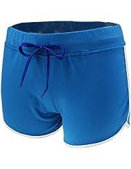 Gazechimp Shorts de sport Femme Fitness Yoga Coton Repérant Perméable à l'air 4Couleurs en Option
