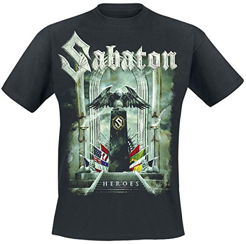 Sabaton Heroes - to Hell and Back T-Shirt schwarz XL