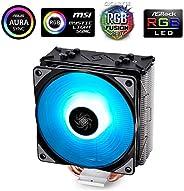 DeepCool RGB CPU Cooler 4 Heatpipes 120mm RGB Fan Universal Socket solution Cooling GAMMAXX GTE