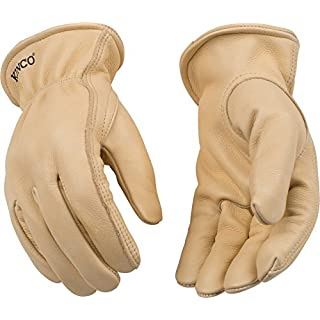 Kinco 98-XL-1 Unlined Grain Cowhide Glove, 12.5