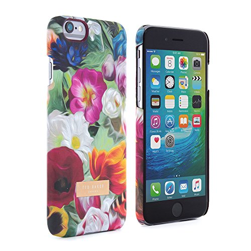 Coque arrière pour iPhone 6/6S Toucher Soyeux - Collection P-E 16 TED BAKER® - Floral Swirl floral swirl