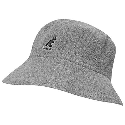 Kangol Hombre Boucle Sombrero De Pescador Gris L/XL