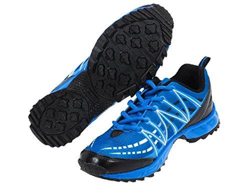 Alpes vertigo - Mizz bleu trail - Chaussures running trail Bleu moyen