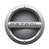 #4: CVANU ( Pack of 2 ) Fuel Reminder PETROL Cars Circle Fuel Badge