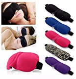 Leopard : Included Component 1 pcs 3D Sleep Mask Natural Sleeping Eye Mask Eyeshade Cover Shade Eye Patch Women Men Soft Portable Blindfold Travel Eyepatch