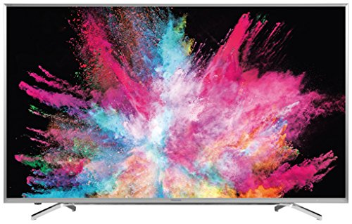 Hisense 65 inch HDR Widescreen 4K Smart LED TV with Freeview HD - Silver