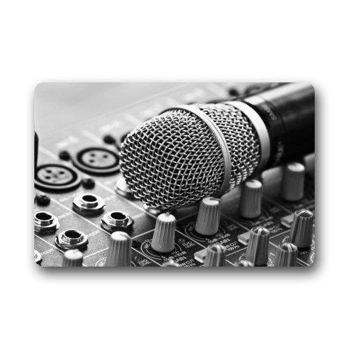 ghkfgkfgk Special Design Controller Microphone Retro Doormats Door Mat 23.6