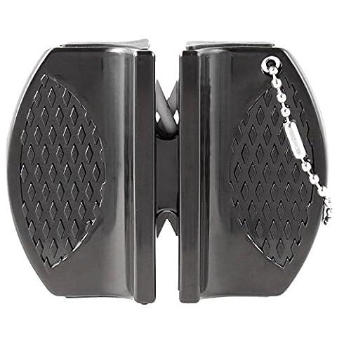 OramicsMicro Messerschärfer Mini für Outdoor, Jäger und unterwegs Schärfwerkzeug