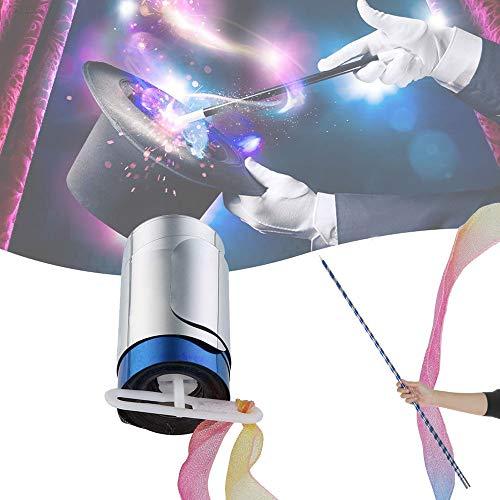 Bescita Stab Tragbare Magischer Zauberstab ┃ NEU ┃ Wizzard ┃ Mitgebsel ┃ Kindergeburtstag ┃ Fasching ┃ Licht & Sound (Blue) (Prop Geld Tasche)