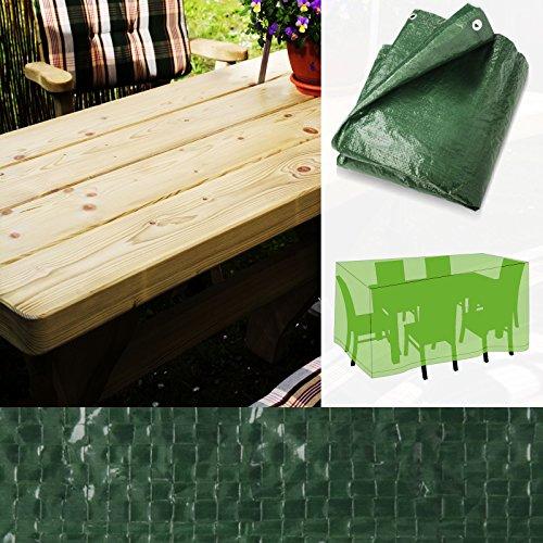 Housse de protection casa pura® pour salons de jardin | 2 tailles au choix - rectangulaire | imperméable et résistant | 295x203x90cm (XL)