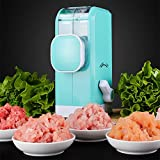 Tenta Kitchen Multi-Function Manual Meat Grinder Hand Sausage&Kebbe Maker Vegetable Grater/Mincer/Chopper/Blender/Dicer with Powerful Suction Base And Food Grade Stainless Steel Blades