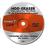Software CD DVD Festplatte komplett löschen NEU