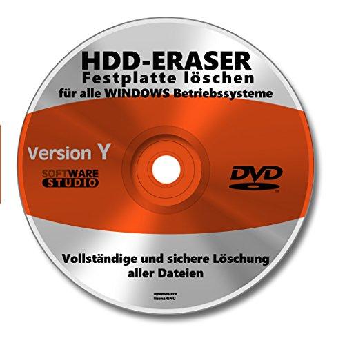 Software CD DVD Festplatte komplett löschen NEU - Löschen Festplatte