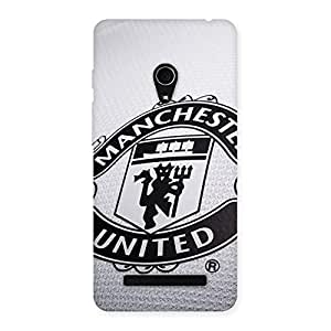 Gorgeous Grey MU Team Back Case Cover for Zenfone 5