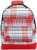 Mi-Pac Tartan Rucksack/ Casual Daypack 17 Litres, Red 740324-003