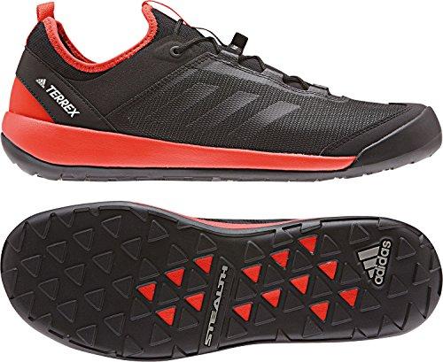 adidas Terrex Swift Solo, Scarpe Sportive Outdoor Uomo nero rosso