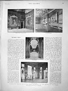 REINE 1899 D'ORANGERIE DE COUPOLE DE PALAIS DE KENSINGTON CAROLINE