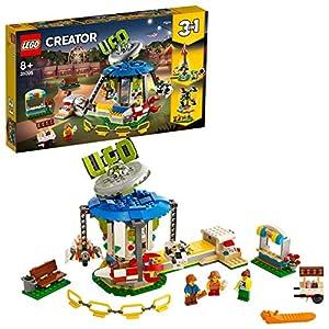 LEGO Creator - Tiovivo de la Feria Nuevo juguete de construcción 3 en 1 para crear Distintas Atracciones (31095)