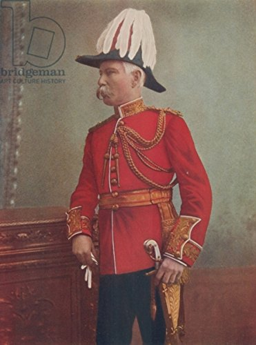 leinwand-bild-30-x-40-cm-major-general-g-h-marshall-commanding-royal-artillery-south-african-field-f