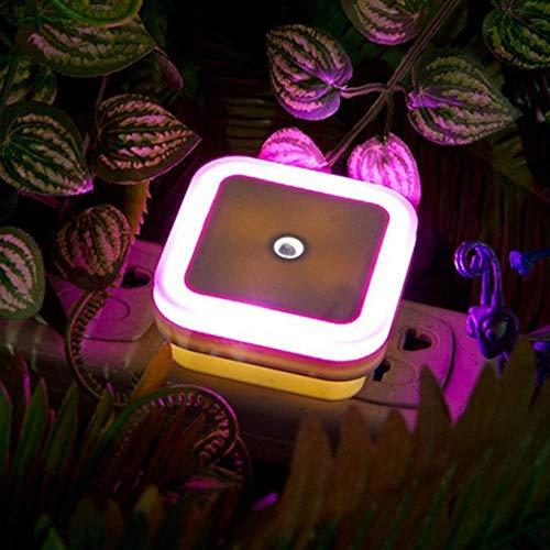 Lichtsensorsteuerung Nachtlicht Mini American Plug Neuheit Platz Schlafzimmerlampe @Red -