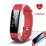 Fitness Tracker, Waterproof Activity Tracker with Pedometer Step Counter Watch and Sleep Monitor