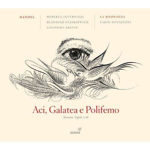 Aci, Galatea e Polifemo, HWV 72: Aria: Impara, ingrata (Polifemo)