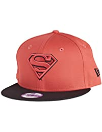 8c276e1932a37 New Era 9Fifty Snapback Kids Cap - Superman Lava Rouge