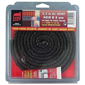 Joint noir pour entretien poêle à bois diam. 10