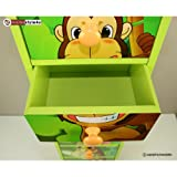 Ghorbani Kinderkommode Kinderschrank Kinder Schrank Regal