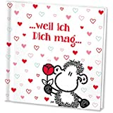 SHEEPWORLD 46088 Geschenkbüchlein »... weil ich Dich mag ...«