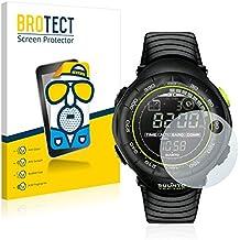 2x BROTECT Matte Protector Pantalla para Suunto Vector Black Lime Protector Mate, Película Antireflejos