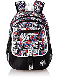 Spiderman Web Slinger School Bag for Children of Age Group 8 +years | Size 19 inch | Material Nylon