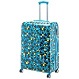 Travelite Campus 4-Rollen Trolley 77 cm Quadro blau