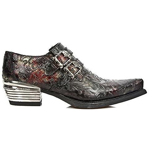 New Rock Hommes Chaussures en Cuir Dallas M.7960-S5 41