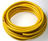 as - Schwabe 10057 Kabel - Leitung - 50m K35 AT-N07V3V3-F 3G1,5 gelb, Aussenbereich, IP44