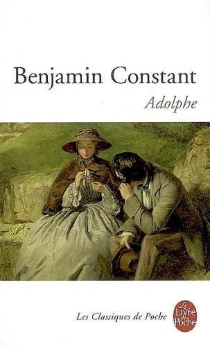 Adolphe par Benjamin Constant