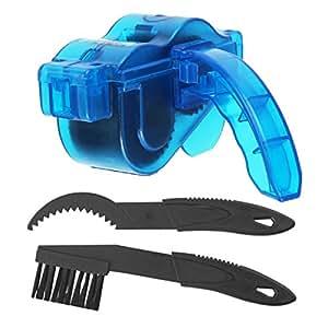 KepooMan Clen Fahrradkettenreiniger + Fahrrad-Gang Reinigung Scrubber Pinsel-Werkzeug
