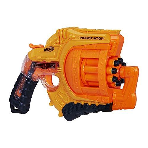 Nerf B8572 Pistola de Juguete Arma de Juguete - Armas de Juguete (Pistola de Juguete, 8 Año(s), Niño, Azul, Naranja, De plástico, 1 Pieza(s))