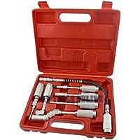 Pompe à graisse manuelle Kit adaptateur adaptateur accessoire Kit de lubrification flexible 7pc UN024