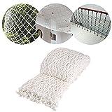 UNIQUEBELLA UQ Schutznetz weiß, Filets für Garten/Balkon/Dach, Dekoration des Hauses