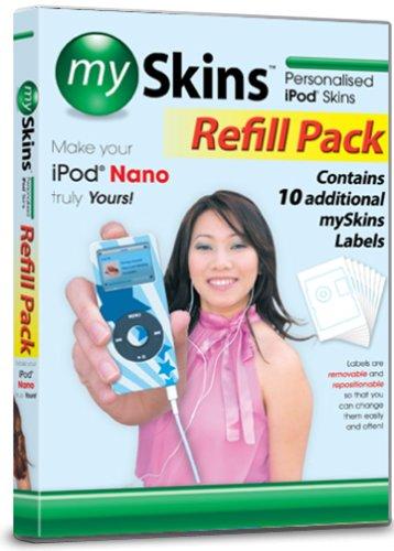 Preisvergleich Produktbild mySkins Paper ipod Nano [Import]