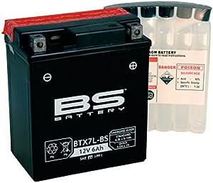 Xfight Parts 5379946 Batterie Btx7l Bs 12v 6ah 0 33 Liter Din 50614 Mtf Wartungsfrei 114x131x71mm Auto