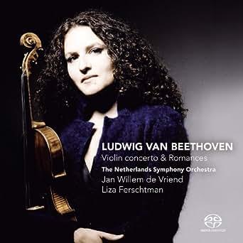 Beethoven: Violin Concerto & Romances by Jan Willem de Vriend, The