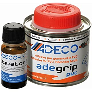 Adeco Adegrip Glue 2 component for PVC Inflatable Dinghy 135g